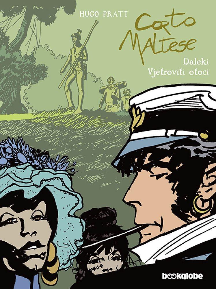Corto Maltese, knjiga 5. - Daleki Vjetroviti otoci