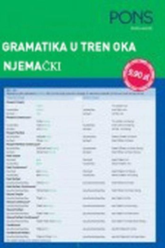 PONS njemački - gramatika u tren oka