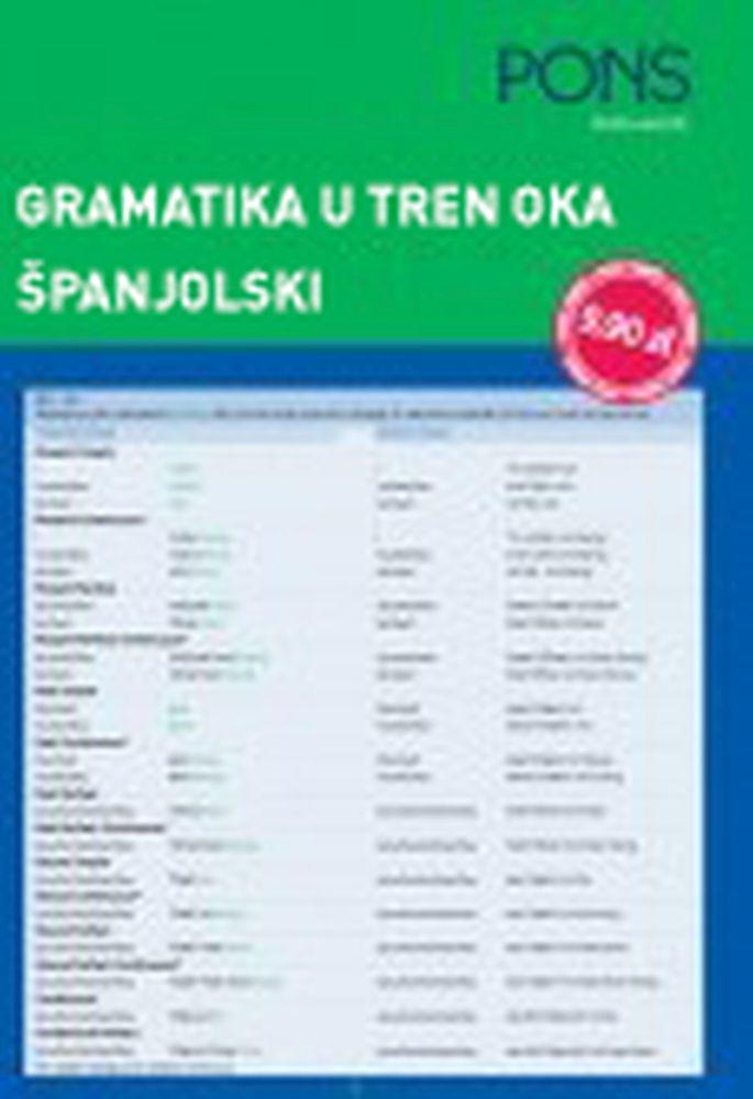 PONS gramatika u tren oka španjolski