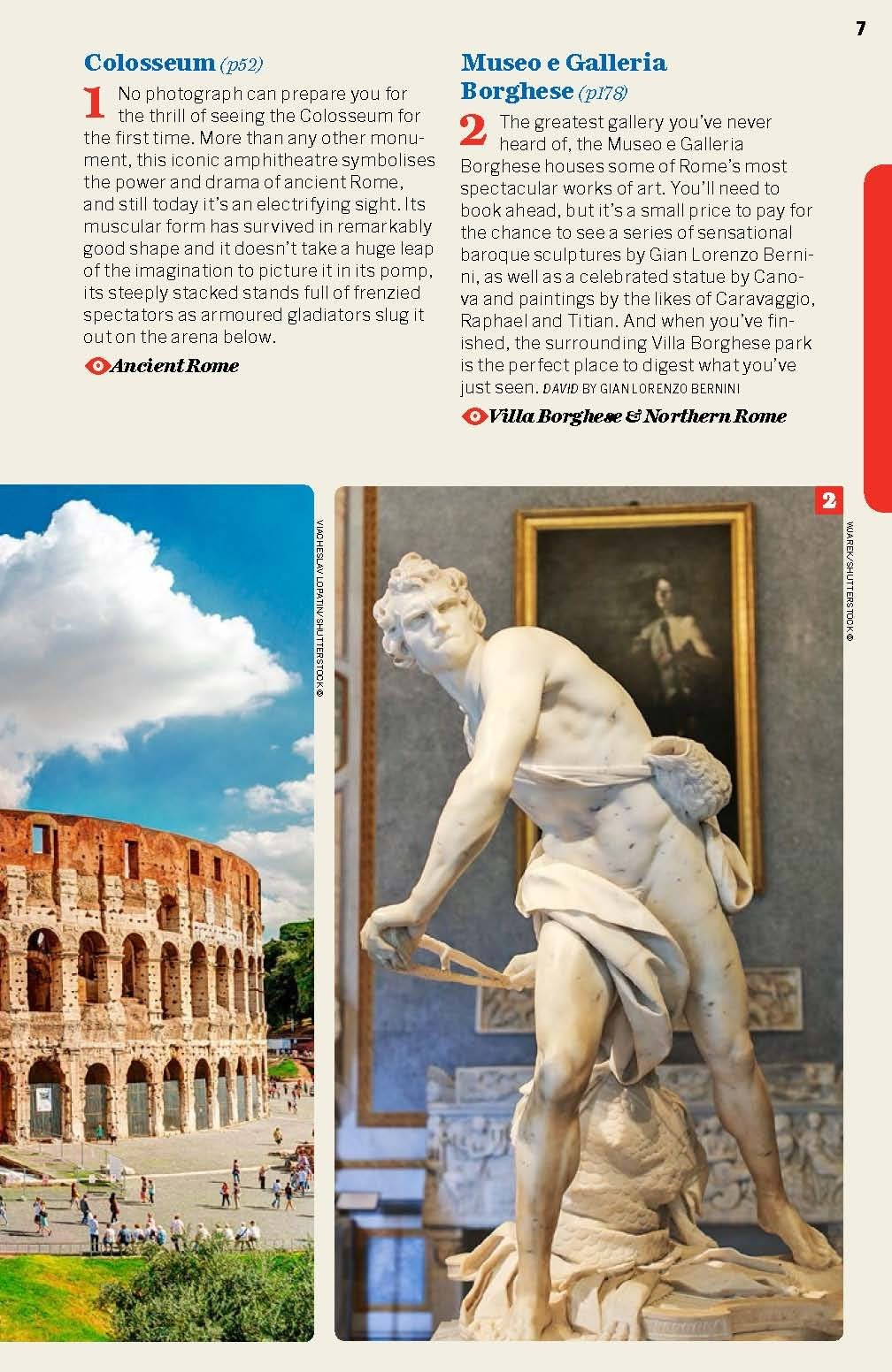 Rome 10 - Lonely planet
