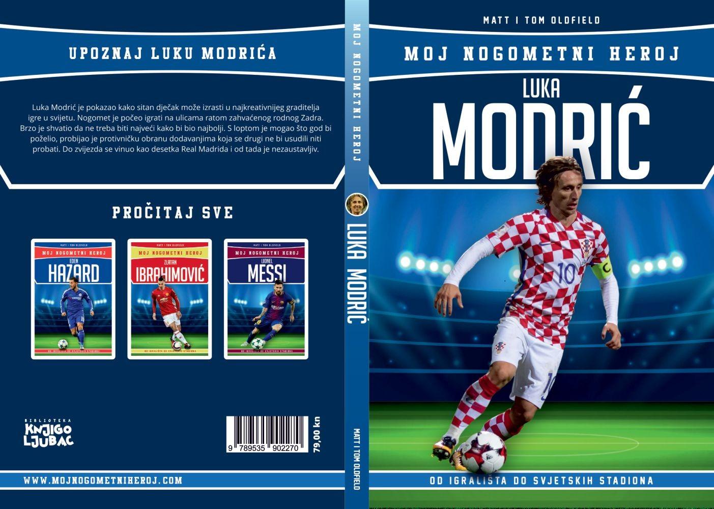 Luka Modrić - Moj nogometni heroj - biografija