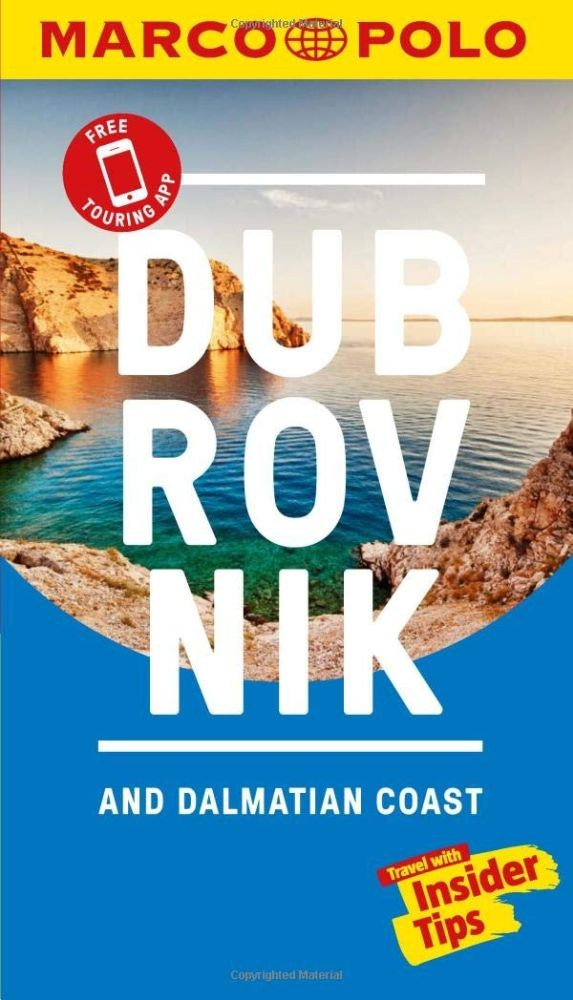 Dubrovnik & Dalmatian Coast Marco Polo Pocket Travel Guide 2019 - with pull out map (Marco Polo Travel Guides)