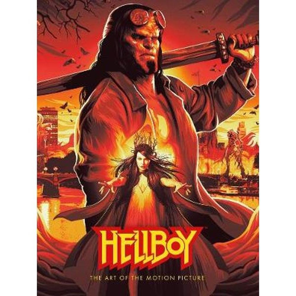 Hellboy: The Art of The Motion Picture (2019) Hardcover