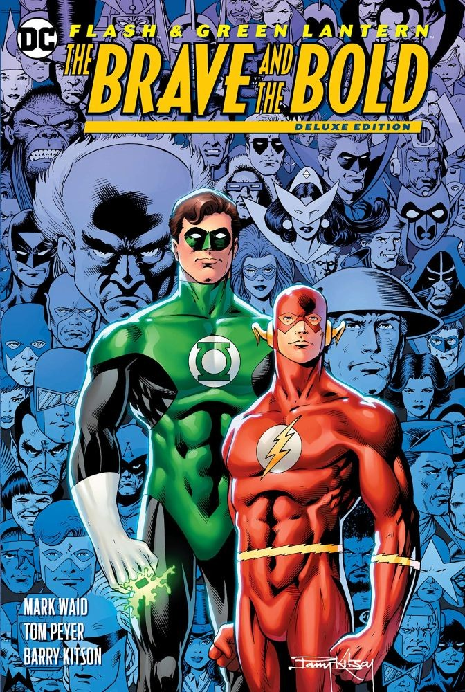 The Flash/Green Lantern: Deluxe Edition: The Brave and the Bold Hardcover