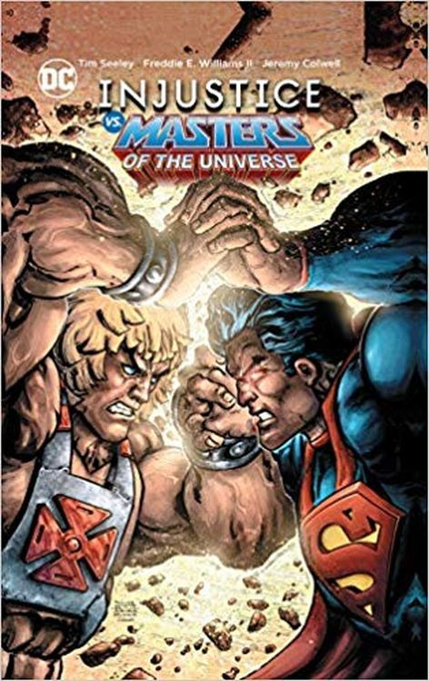 Injustice vs. Masters of the Universe Hardcover