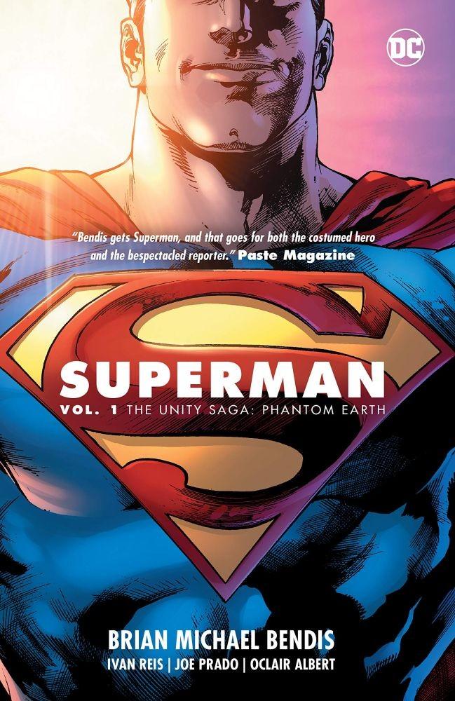 Superman Vol. 1: The Unity Saga: Phantom Earth Hardcover
