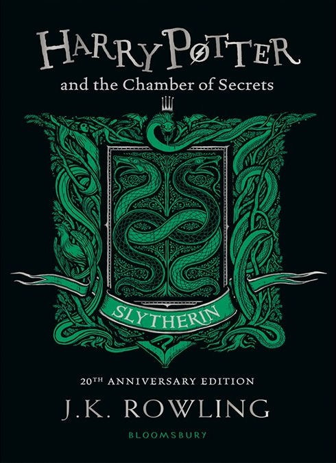 Harry Potter and the Chamber of Secrets – Slytherin Edition Paperback