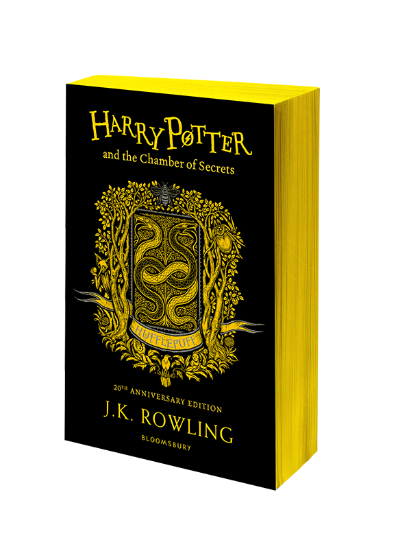 Harry Potter and the Chamber of Secrets – Hufflepuff Edition Paperback