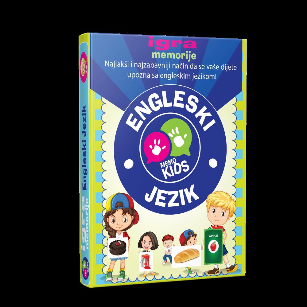 Igra memorije - karte engleski jezik