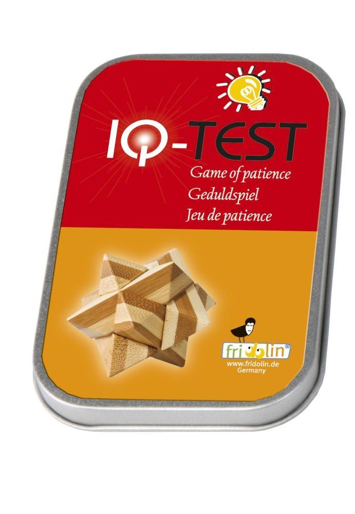 IQ test drveni u kutiji - zvijezda