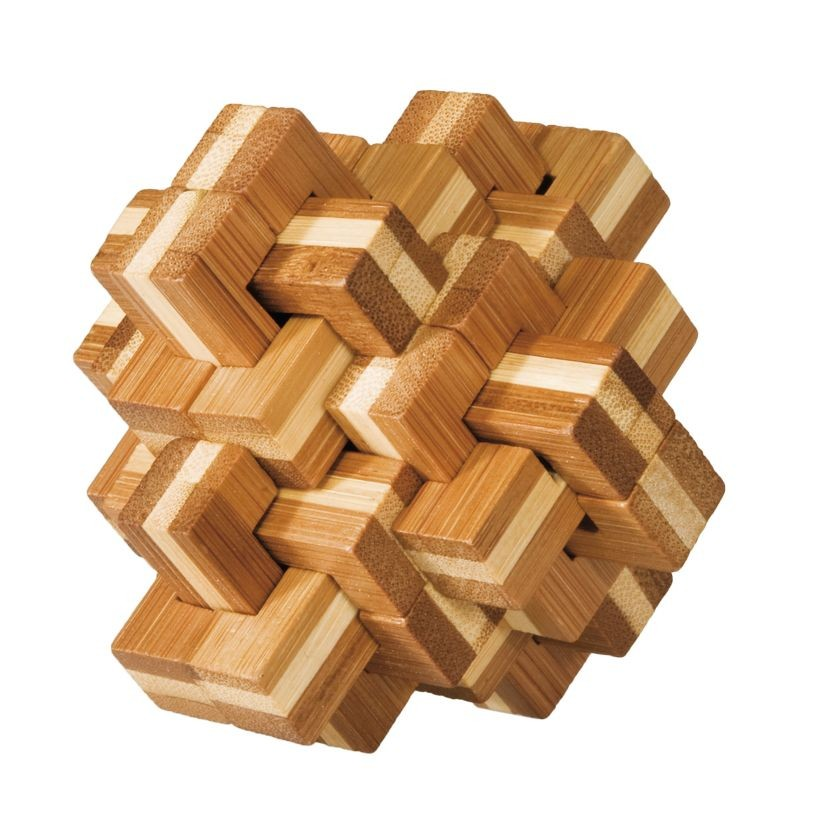 """IQ test bamboo puzzle """"Ananas"""""""