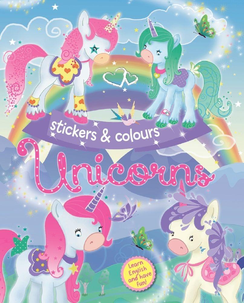 Unicorns - engleski (plava)