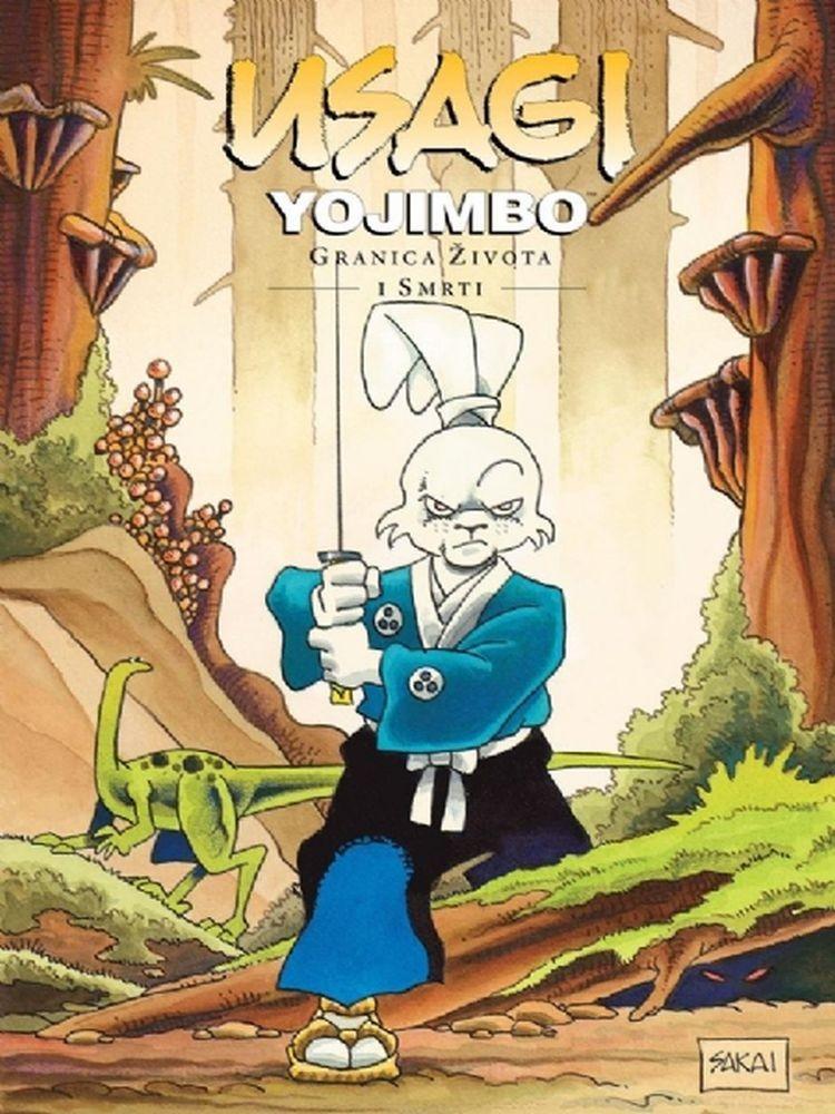 Usagi Yojimbo, knjiga 10: Granica života i smrti