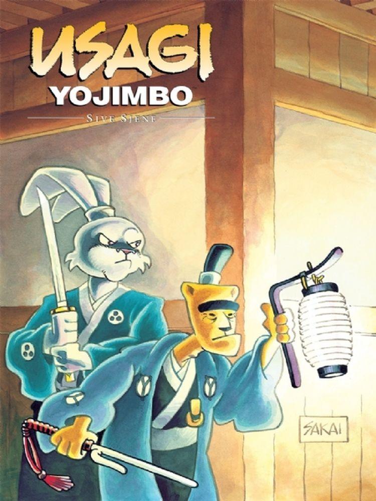 Usagi Yojimbo, knjiga 13: Sive sjene
