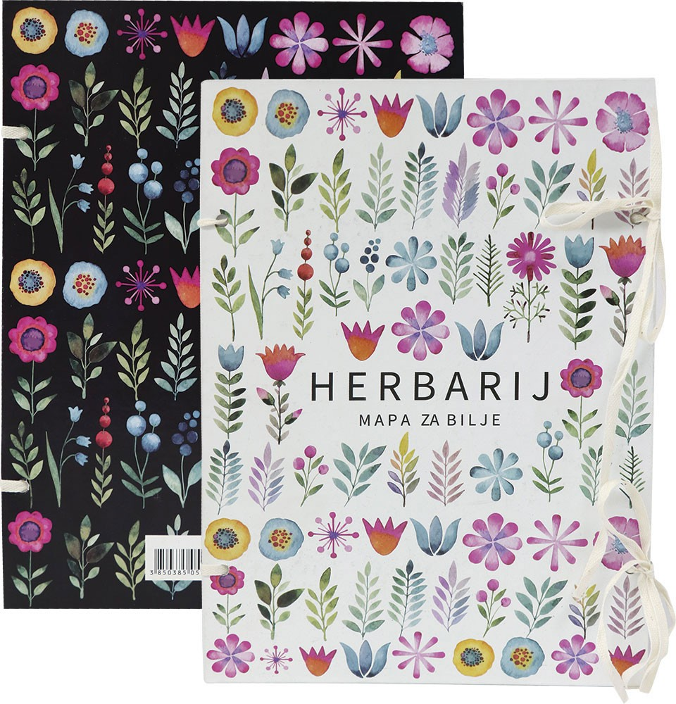 Herbarij - mapa za bilje