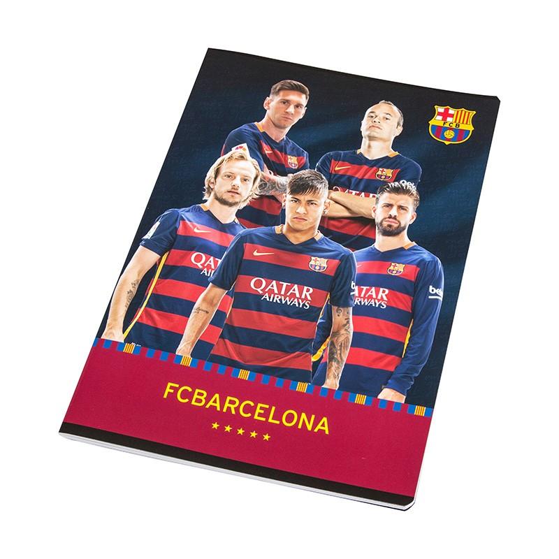 Bilježnica A4, crte - BARCELONA
