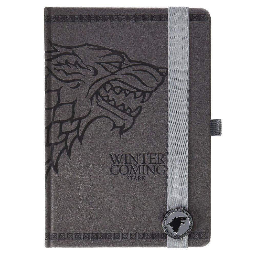 Game Of Thrones - Stark, A5 Premium Bilježnica