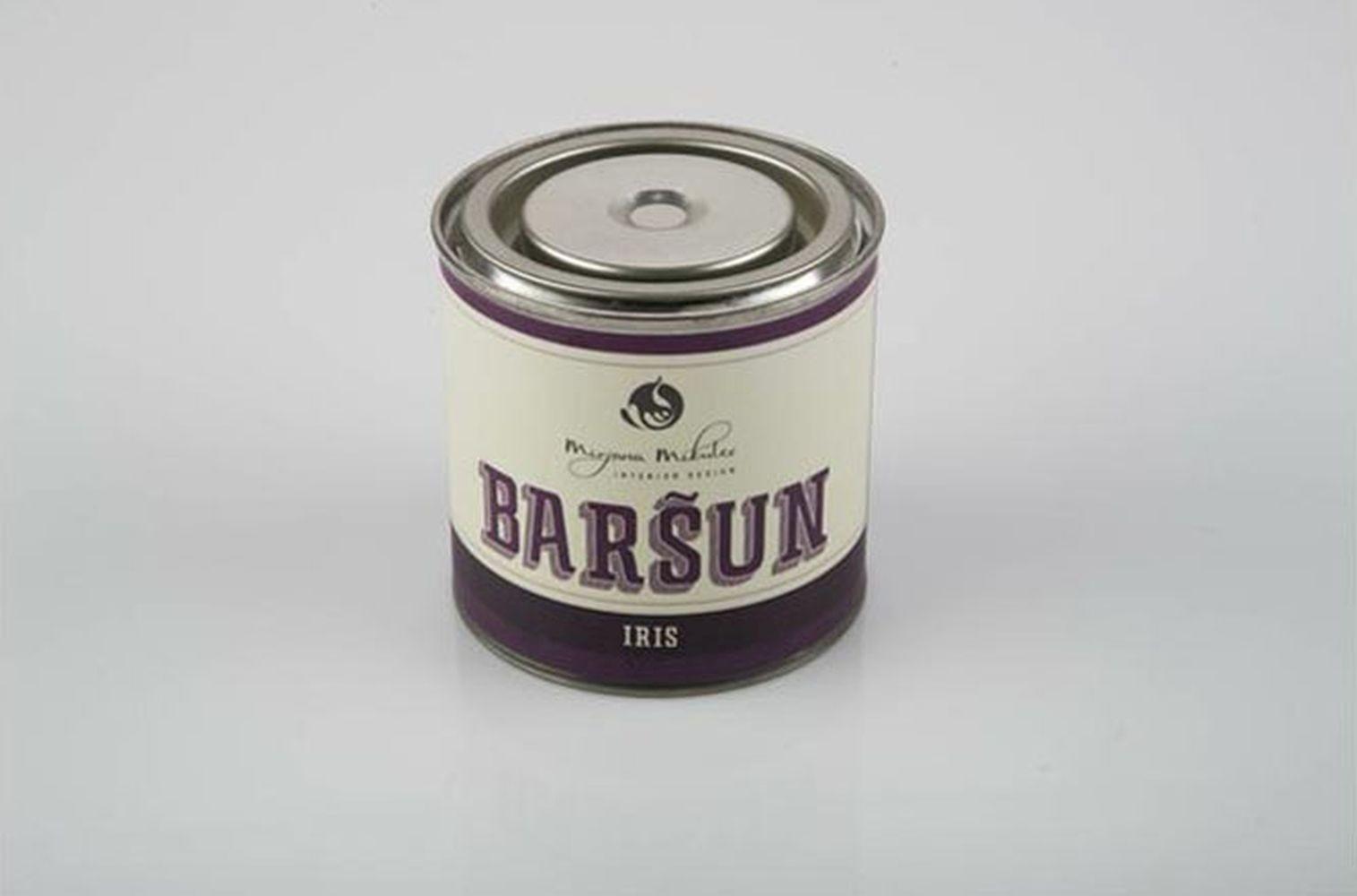 Mirisna svijeća u limenci - Baršun (Mirjana Mikulec design)