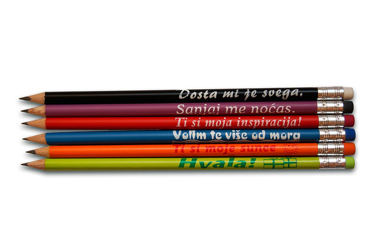Olovka grafitna HB Poruke 104 , čašaToz 2021