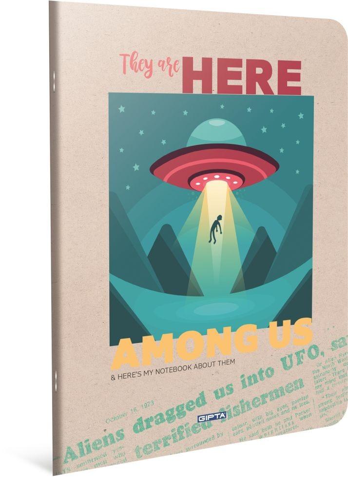 HERE BILJEŽNICA A4 KOCKE UFO