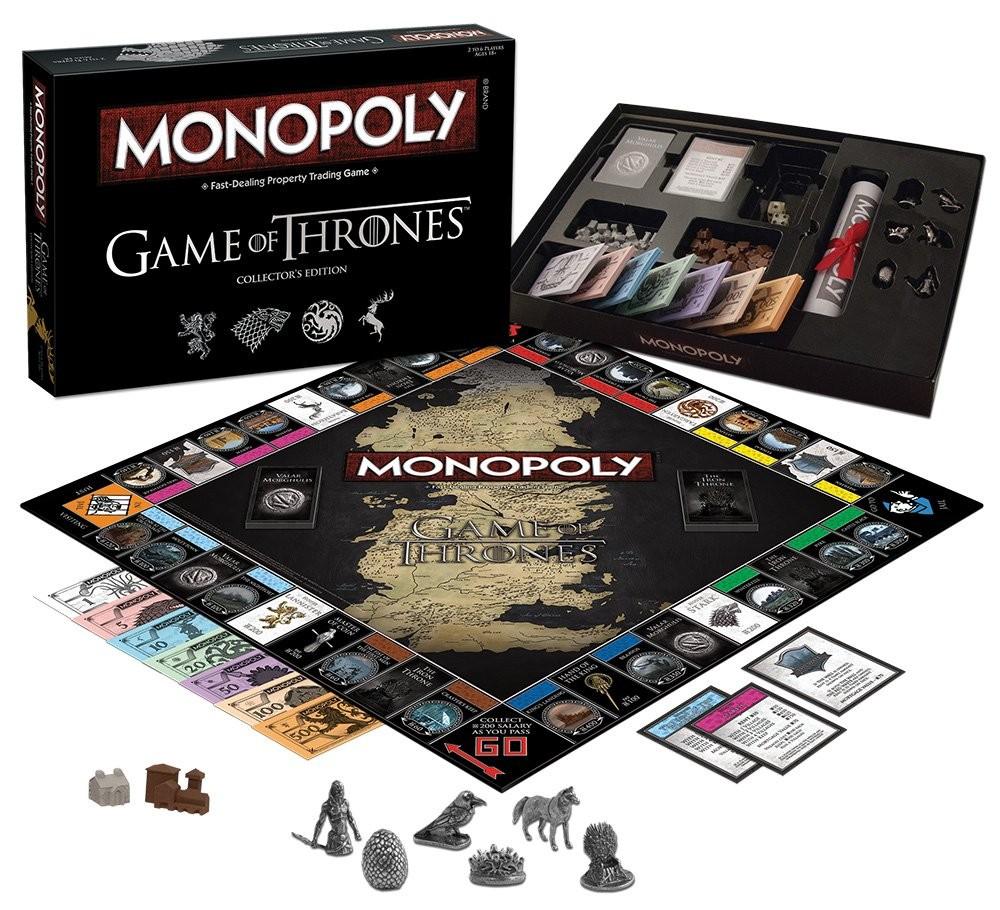 Monopoly Igra Prijestolja - Game of Thrones (Collectors Edition)