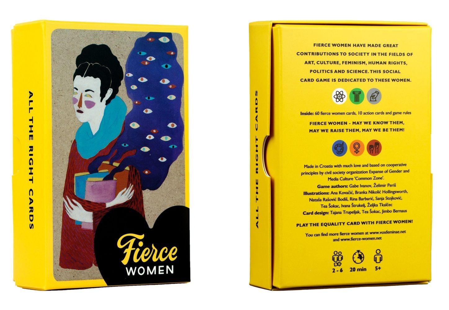 Društvena igra Fierce women/Strašne žene