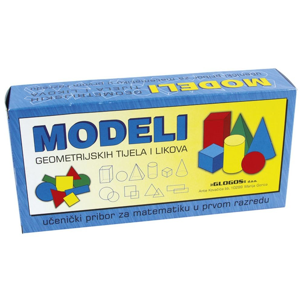Modeli geometrijskih tijela i likova