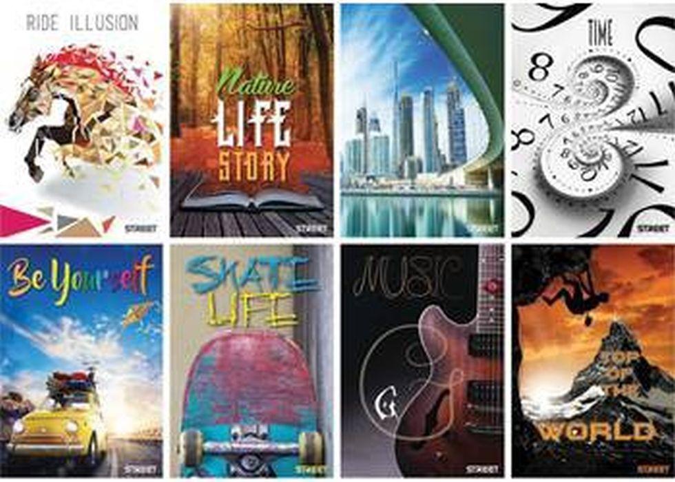 Bilježnica STREET Young compilation A4/D, meki uvez