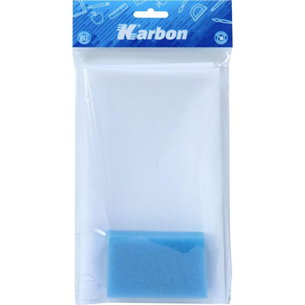 Set podloga za klupu + spužvica KARBON