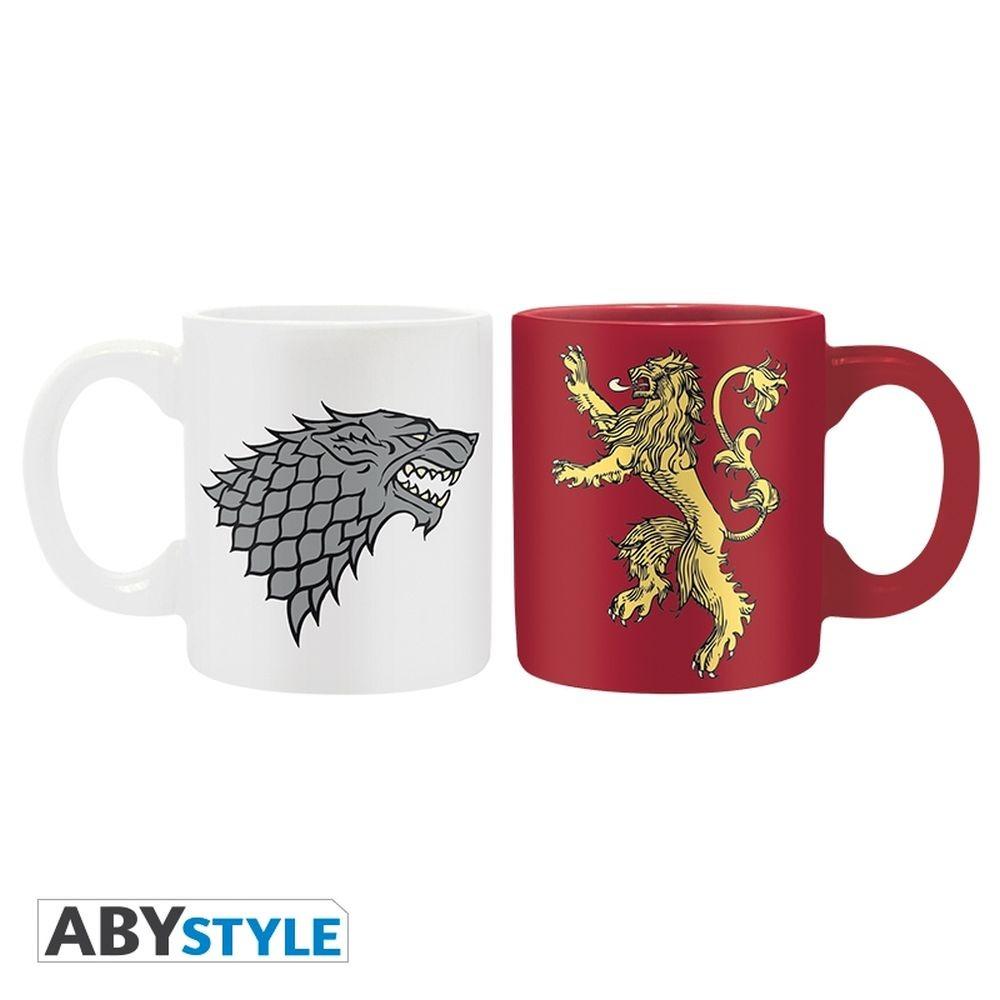 Game of Thrones - Stark & Lannister - Set 2 Mini Mugs