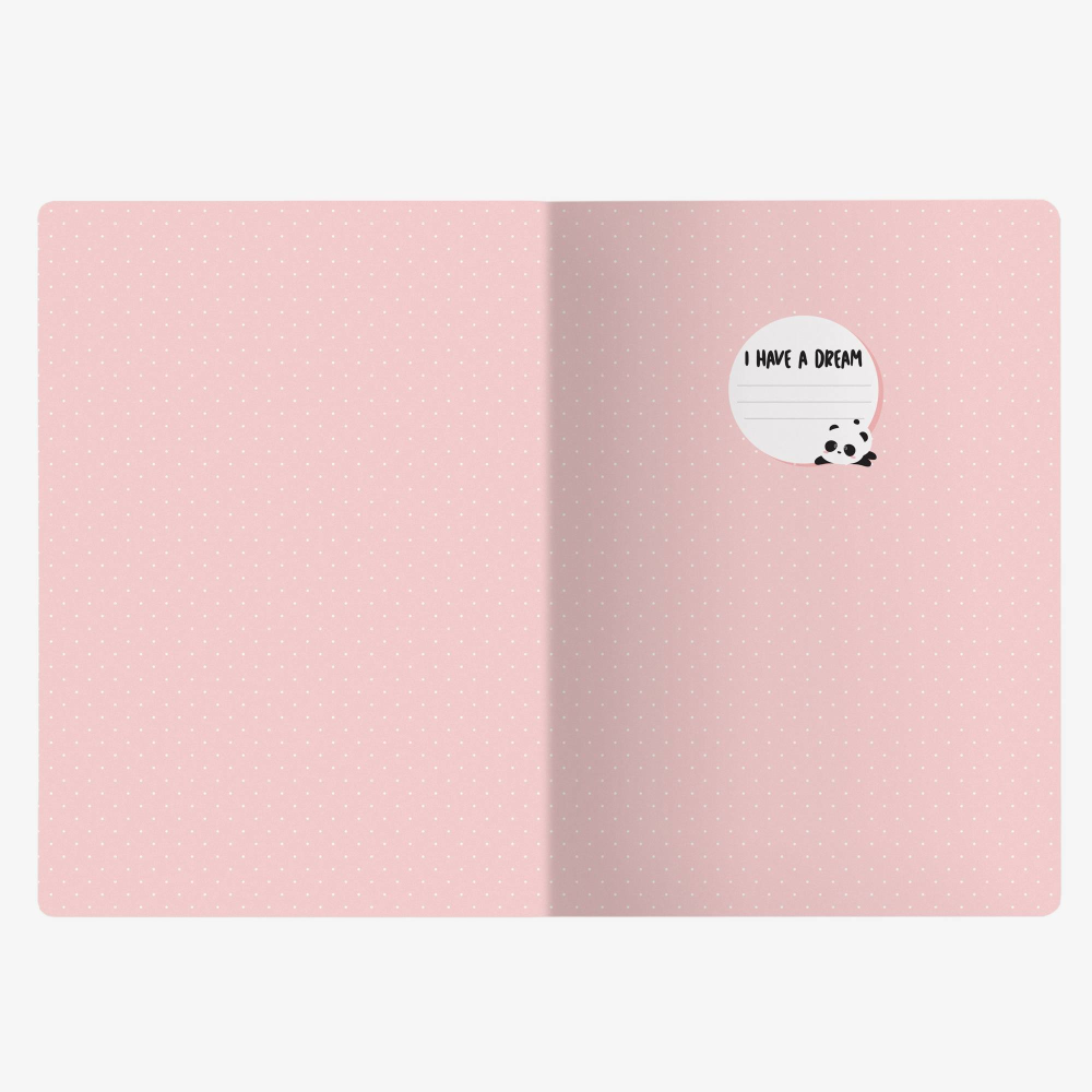 Legami Medium Notebook Panda - Hug Me