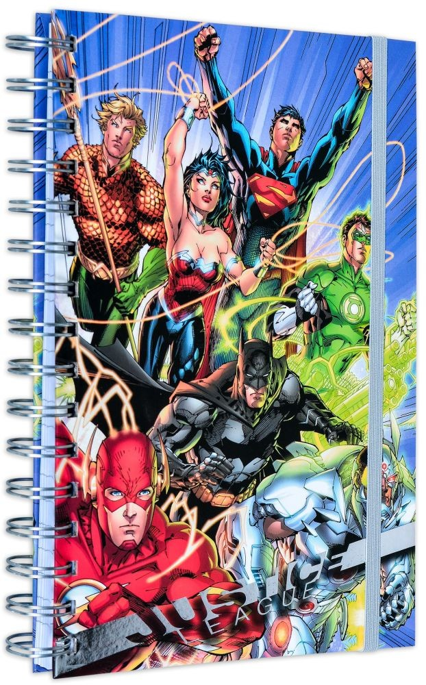 Justice League (United) A5 Wiro Notebook