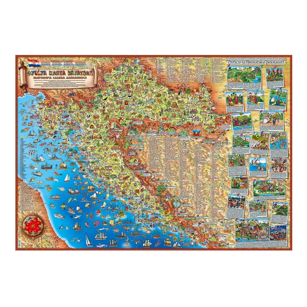 Dječja karta Hrvatske