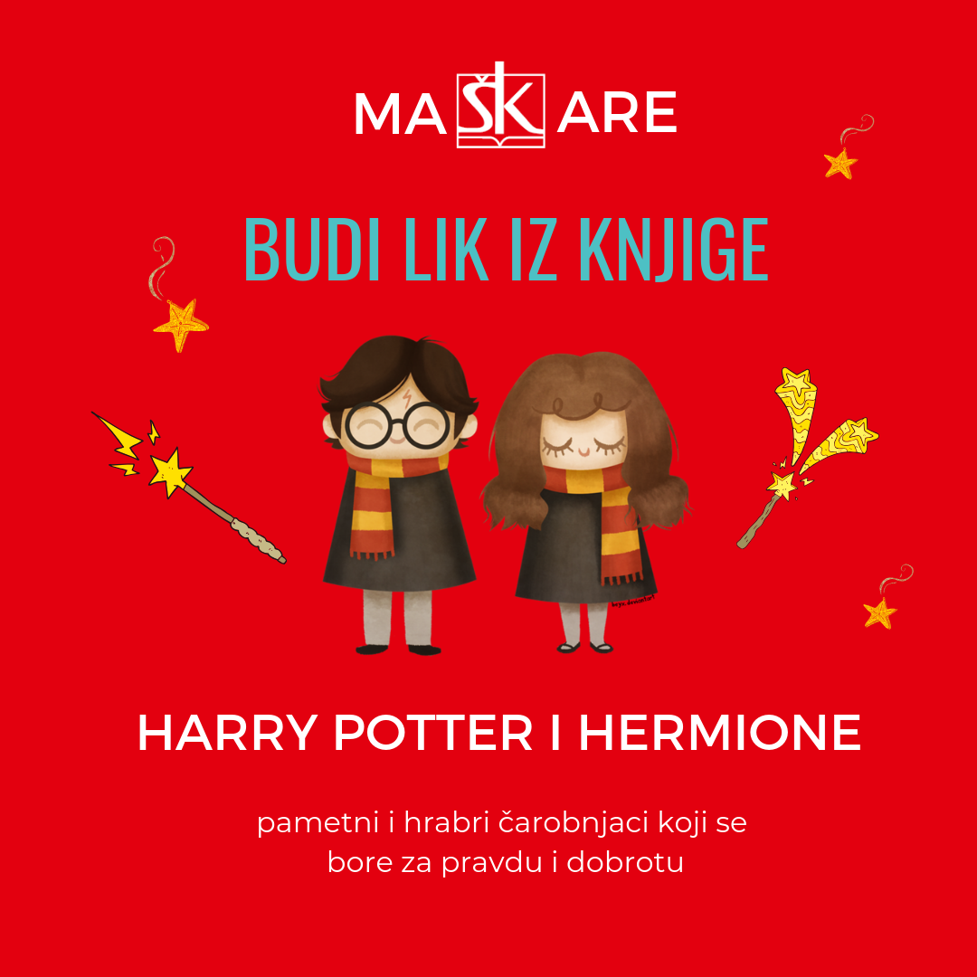 Harry Potter i Hermione